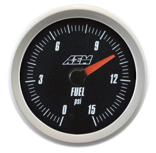 AEM 30-5144 Analog Boost/Fuel Pressure Gauge ()
