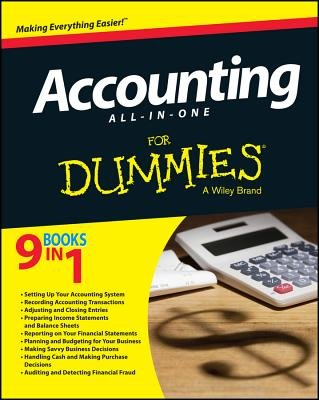 Read Online Accounting All-In-One for Dummies[ACCOUNTING ALL-IN-1 FOR DUMMIE][Paperback] pdf epub