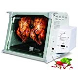 Ronco Showtime Standard Rotisserie and Barbeque Oven White