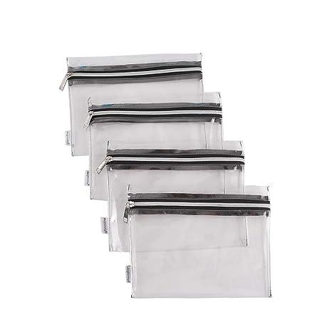 Amazon.com: Augbunny - Bolsas de vinilo transparente con ...