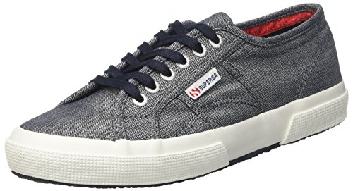 italianshirt 912 Men's Blue Herringbone blu Superga Cotm Low 2750 qnUw1