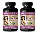 fertility supplements for women best seller - FEMALE FERTILITY COMPLEX 1310 Mg - DIETARY SUPPLEMENT - folic acid vitamins for women - 2 Bottles 240 Capsules