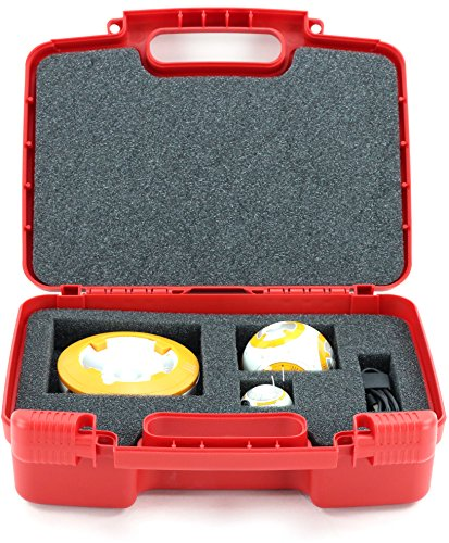 Life Made Better Storage Organizer   Compatible With Sphero Sprk   Steam Educational Robot  Durable Carrying Case   Red