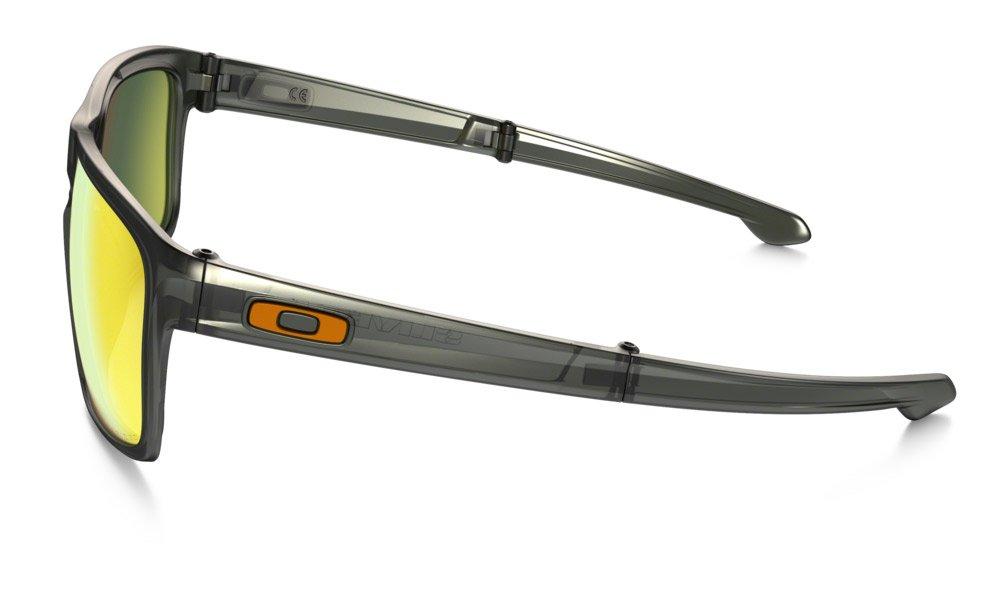 e6353573ac3a9 Oakley Men s Sliver F Polarized Iridium Rectangular Sunglasses ...