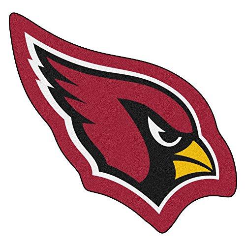 Arizona Cardinals Rug - Fanmats 20960 Team Color 3' x 4' NFL - Arizona Cardinals Mascot Mat