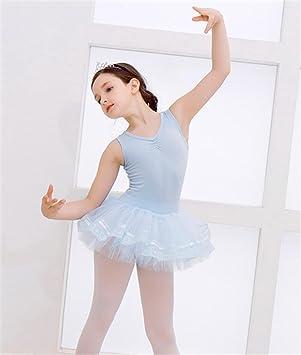 peiwen Traje de la práctica del Ballet de los niños/Falda ...