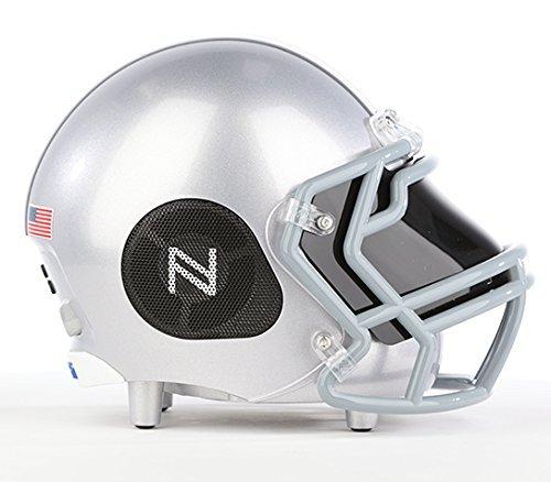 Nima Athletics NCAA Football Ohio State Buckeyes Wireless Bluetooth Speaker. Officially Licensed Portable Helmet Speaker by NCAA College Football - Small (Athletics Ohio Football State)