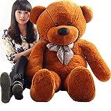 39 Inch Teddy Bear Stuffed Animal Plush Toy,Dark Brown