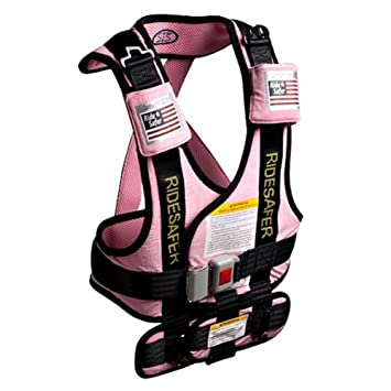 Safe Traffic System Ride Safer 2 Travel Vest Pink Large