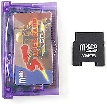 Rabusion - Adaptador de Tarjeta SD y Mini Tarjeta de Memoria para ...
