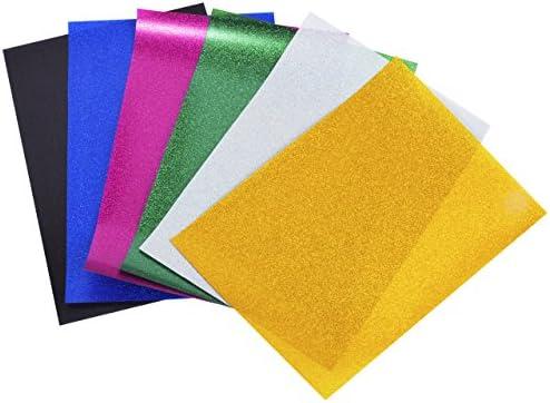 Magiin Papel Transfer para Hacer Camisetas 6 Hojas de Colores Papel Transferencia de Brillo para Impresión en Camiseta y Tela: Amazon.es: Hogar