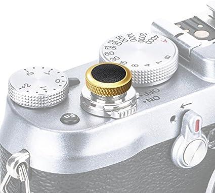 SRB-GR Black Ergonomischer Ausl/öser *Kupfer /& Kunstleder* Ausl/öseknopf Soft Release Button f/ür Fuji Fujifilm xt20 x 100f xt10 x-t2 x-pro2 x-pro1 X 100 X100s x100t x30 x 20 x10 x-e3 x-e2s