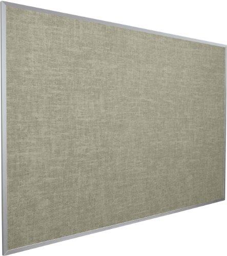BestRite 4 x 8 Feet Vin-Tak Tackboard Aluminum Trim, Gray (311AH-44) by Best-Rite