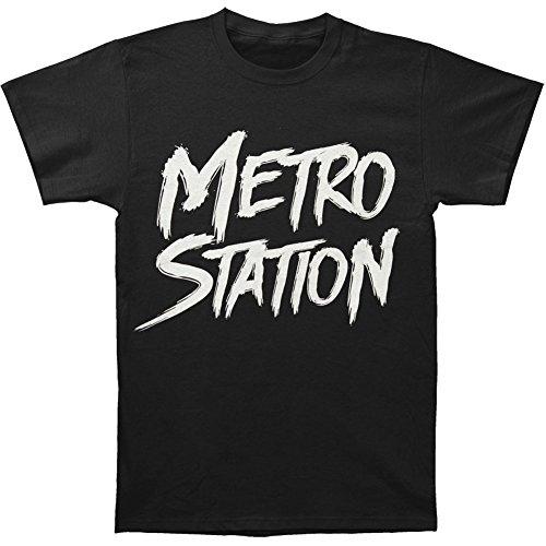 Metro Station Men's Love & War T-shirt Small (Metro Station Shirts)