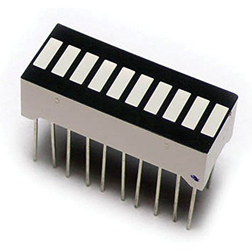 Led Bar Graph - Seeed Studios LED207A6B LED Bar Graph with 10 Segment (Pack of 4)
