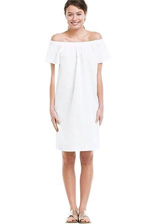Ellos Women\'s Plus Size Eyelet Dress at Amazon Women\'s Clothing store: