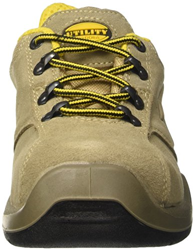 47 Adults' Diadora Roccia 12 Flow Work Ii UK Low S1p Unisex EU shoes Lunare Grigio Grey qwa6Hq