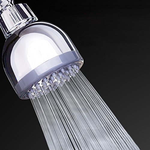 Shower Head | High Pressure Showerhead | High Flow 3 Inch Showerhead | Removable Water Restrictor | Shower Head for Low Water Pressure