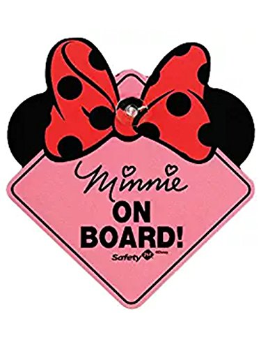 Disney Minnie Mouse On Board Sign