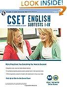 #5: CSET English Subtests I-IV Book + Online (CSET Teacher Certification Test Prep)