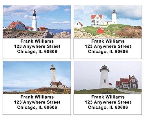 Serene Lighthouses Address Labels ()