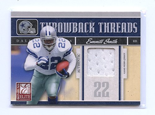 hrowback Threads Jersey #31 Emmitt Smith Marion Barber /199 (Emmitt Smith Football Jersey)