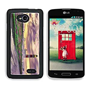 D N K Beautiful View of a Lighthouse LG L70 Snap Cover Premium Aluminum Design Case Open Ports Customized Made to Order