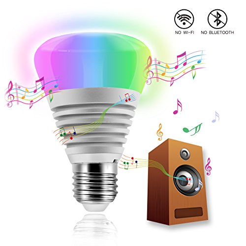 iCherir(TM) EXCLUSIVE Sound Control Ambient Bulb, Animating