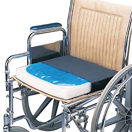 Physical Therapy Supplies 081175876 Classic Gelfoam Vinyl W/LS Cvr 18X16X2.5, Shape by Physical Therapy Aids