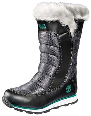 Timberland Winter Carnival Tall Boot (Toddler/Little Kid/Big Kid),Black/Grey,6 M US Toddler
