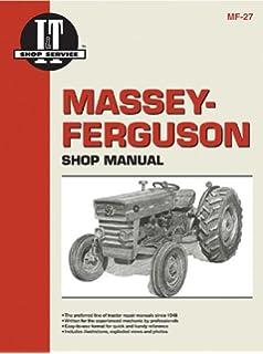 massey ferguson 240 4wd manual service
