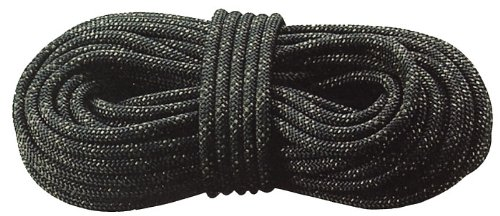 Rothco S.W.A.T./Ranger Rappelling Rope, Black, 150'