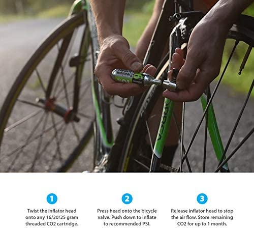 Genuine Innovations X-Mount CO2 vélo//gonfleur Nylon Universel Système de montage