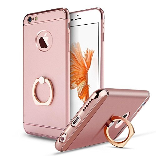 iPhone-6S-Plus-case-KAMII-3-in-1-Ultra-Slim-Design-Hybrid-Metal-Textured-Grip-Anti-Skidding-PC-Hard-Back-Cover-with-Delicate-Ring-Kickstand-for-iPhone-6-Plus-iPhone-6S-Plus-55