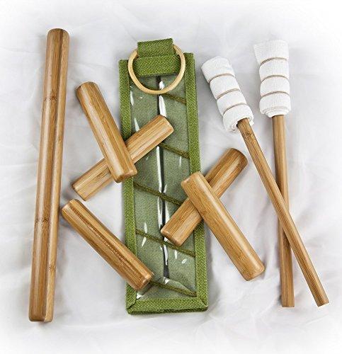 Bamboo-fusion Table Stick Set