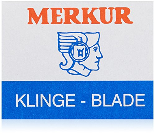 Merkur Detailing Razor Blades, 0.01 Lb.