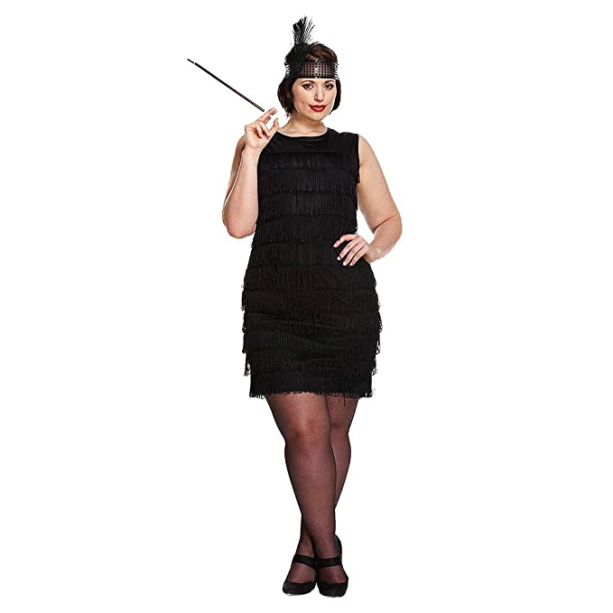Value Flapper Dress and Headband - Sizes 10-14 or X-Large