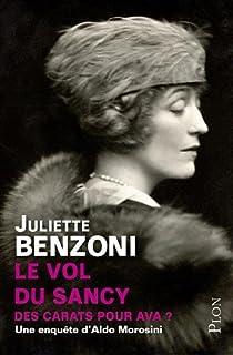 Le Vol du Sancy, tome 1 : Des carats pour Ava ? par Benzoni