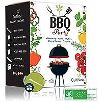 Cultivea Mini - Kit BBQ Party listo para cultivar - Semillas 100% ecológicas y orgánicas - Cultiva y disfruta - Idea…