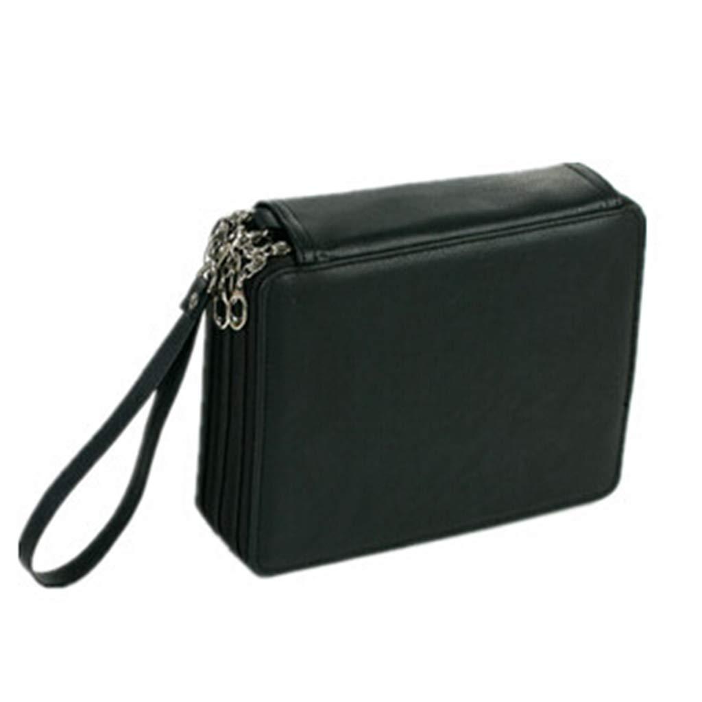 Amazon.com : EALAMEI Pencil case Leather Pencil case Kawaii ...