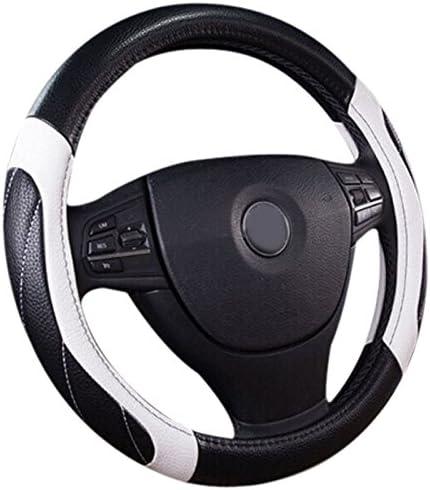 antideslizante absorci/ón de sudor Showudesigns cubierta para volante de coche Funda para volante universal de 15 pulgadas para mujer