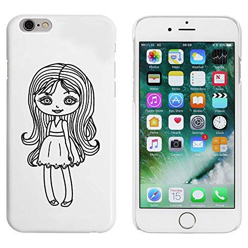 Blanc 'Fille avec Maquillage' étui / housse pour iPhone 6 & 6s (MC00025498)