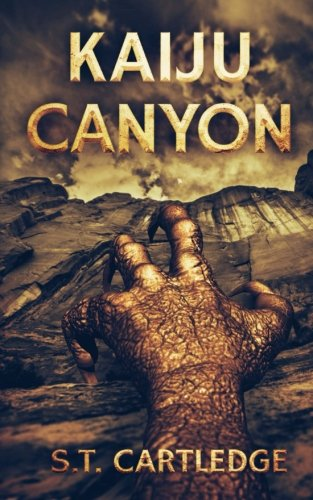 book cover of Kaiju Canyon