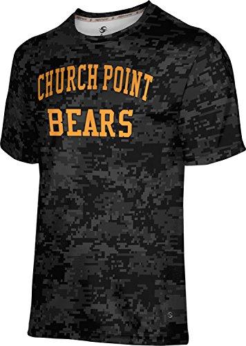 ProSphere Men's Church Point High School Digital Shirt (Apparel) EEEC2 by ProSphere
