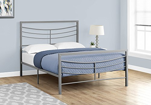 Monarch Specialties I 2642F Bed Size Metal Frame Only, Full,