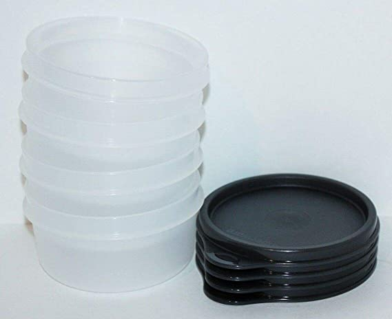 Tupperware Tropical Cups Round Set of 4 n Smidgets Set of 4-New Free Ship