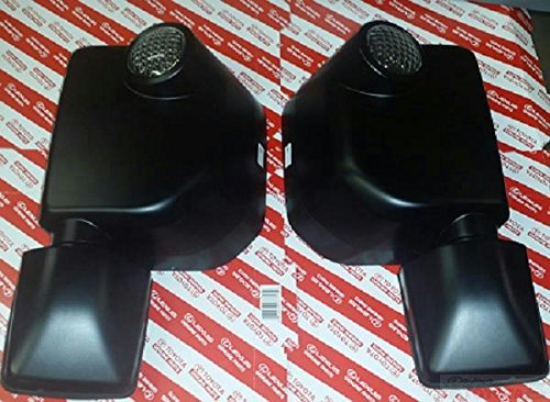OEM TOYOTA FJ CRUISER BLACK OUT MIRROR SET 87940-35A10 / 87910-35A40 2007 - 2014 ()