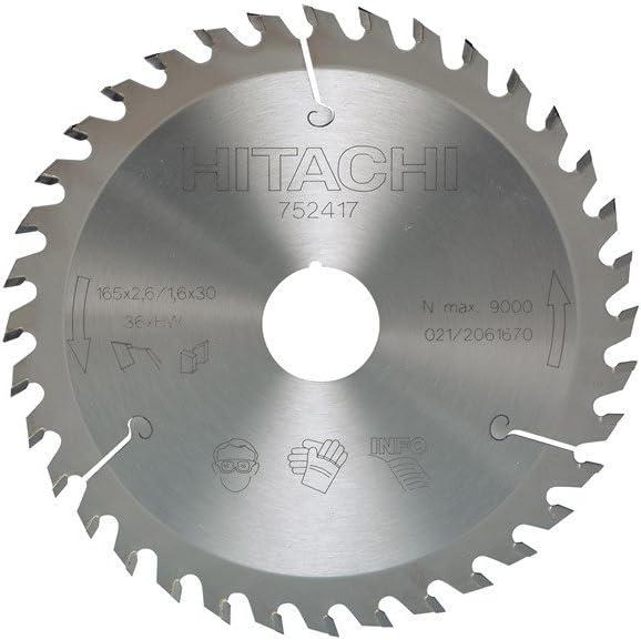 Hikoki 752431 Hoja de sierra circular TCT 185X30 Z18