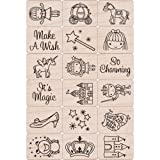 Hero Arts LP1699-LP199 Ink and Stamp Set, Fairy Princess