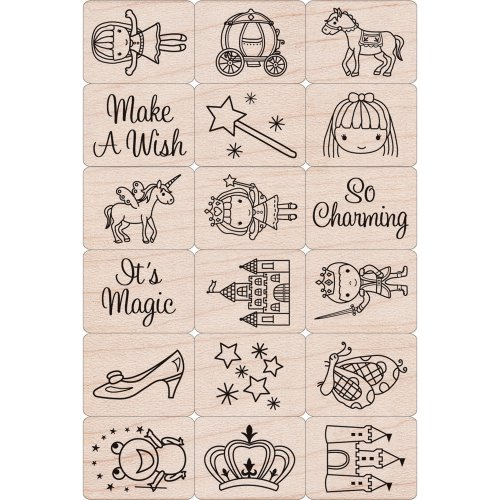 Hero Arts LP1699-LP199 Ink and Stamp Set, Fairy Princess by Hero Arts